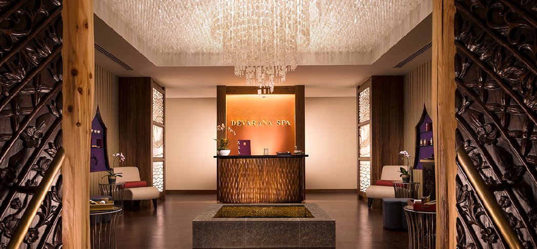 Exclusive treatment at Devarana Spa