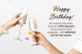 Dusit Gold Birthday Exclusive